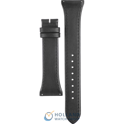 Boccia Straps 3148-01 Black Leather Strap A3148-01
