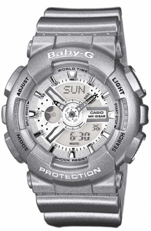 how to change time on baby g shock watch
