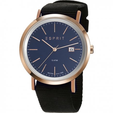 Esprit watch blue