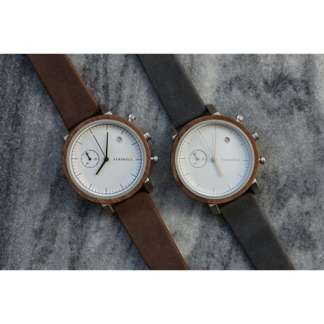 Kerbholz watch Brown