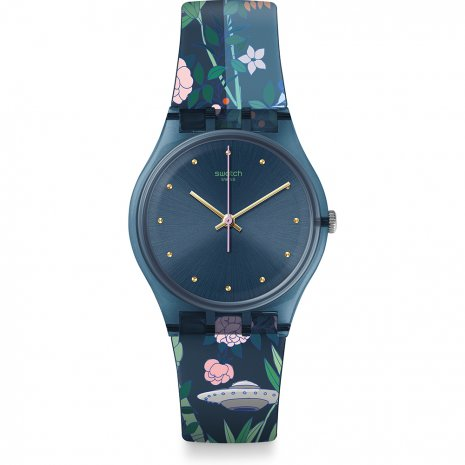 Swatch Ovni Garden watch